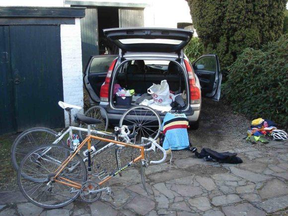 Ronde van Vlaanderen Cyclo 2015 krævede en del udstyr, og nu også rengøring