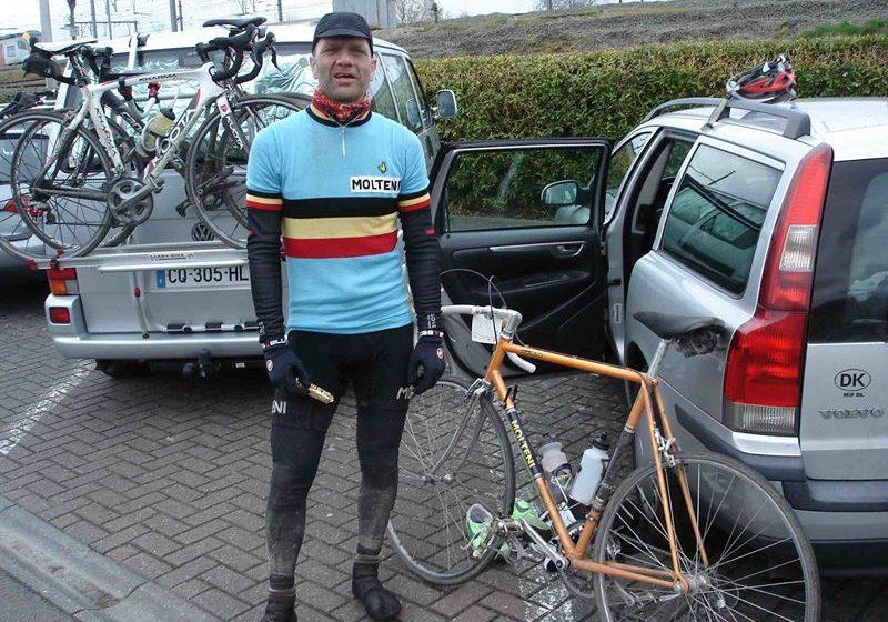 Per efter et møgbeskidt Ronde van Vlaanderen Cyclo 2015