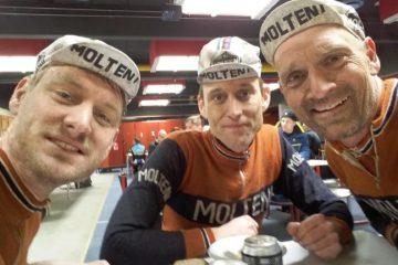 Kasper, Niels og Steffan efter Nordfyn Rundt 2016