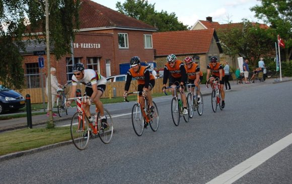 Squadra Molteni ved DGI Holdløb i Lund