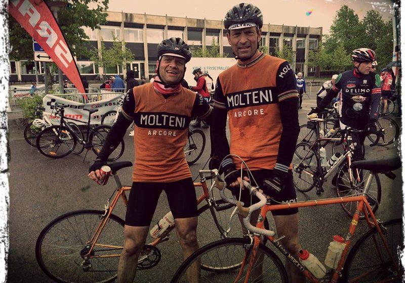 Niels og Per er beskidte men glade efter Grejsdalsløbet 2014