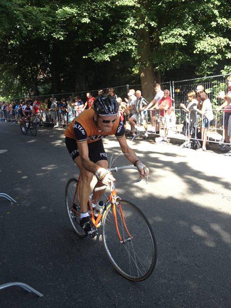 Kongeetapen 2014 - Niels kæmper sig op af Kiddesvej 2