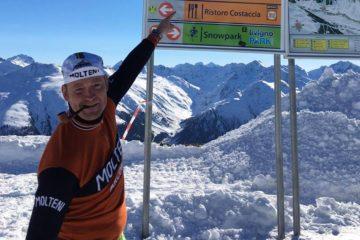 Max Nielsen på højdetræning i de italienske alper for at forhøje sin hæmatokritværdi