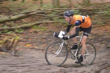 Squadra Molteni rytter Niels Bjørnsteen på sin cx stålcykel
