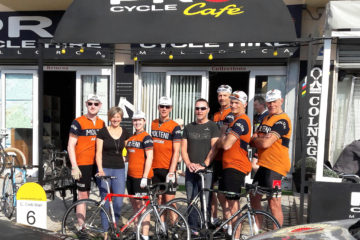 Squadra Molteni for Pro Cycle Hire på Mallorca