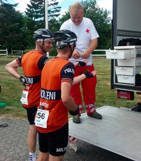 Trods indtagelse af adskillige belgiske cocktails, må både Grane Maaløe og Eigil Leegaard melde fra Paris-Roubaix med skader