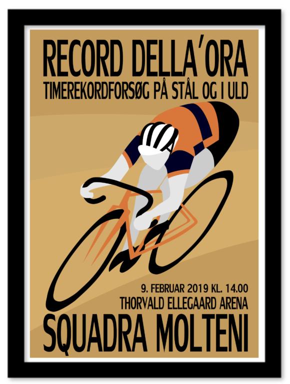 Plakat – Record Della'Ora